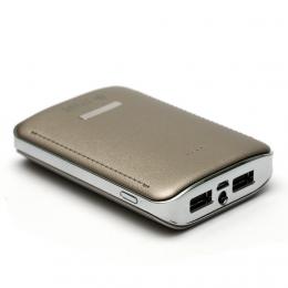 Универсальная мобильная батарея PowerPlant PB-LA9236 7800mAh (универсальный кабель)