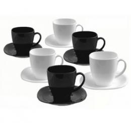 Чайний сервіз Luminarc Carine Black&White D2371