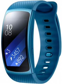 Фітнес-браслет Samsung Gear Fit 2 (SM-R3600ZBASEK) Blue