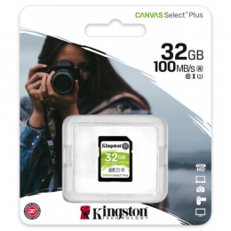 Карта памяти Kingston Canvas Select Plus Class 10 UHS-I U1 V10 (SDS2/32GB)