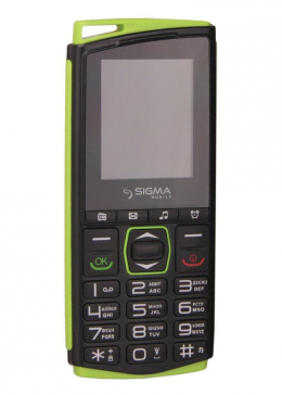 Мобільний телефон Sigma mobile Comfort 50 Mini 4 Black/Green