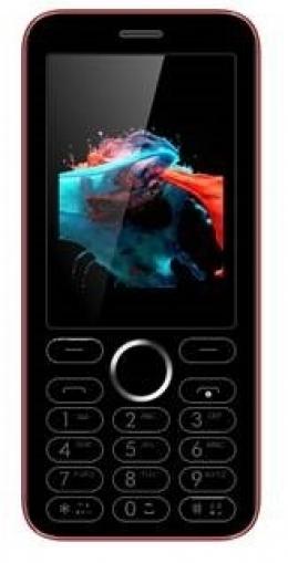 Мобільний телефон Viaan V241 Dual Sim Black/Red