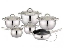 Набор посуды Bohmann BH 333-12 MRB