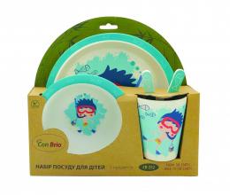 Набір дитячого посуду Con Brio CB-252