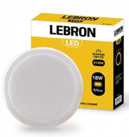 Світильник LED Lebron L-WLR-1841 18W 4100K