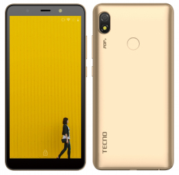 Смартфон Tecno Pop 3 (BB2) DualSim Champagne Gold