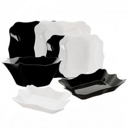 Столовый сервиз Luminarc Authentic Black/White E6195 19 предметов