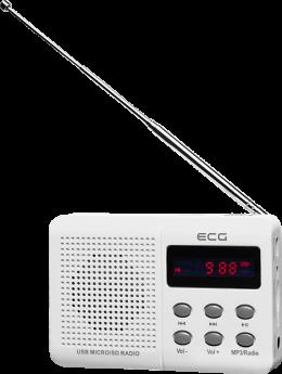 Радіо ECG R 155 U White