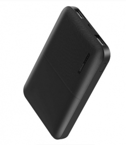 Внешний аккумулятор Florence T-WIN 5000mAh Black (FL-3001-K)