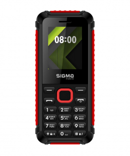 Мобильный телефон Sigma mobile X-style 18 TRACK Black-Red