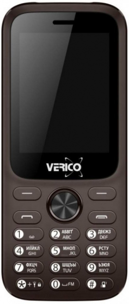 Мобільний телефон Verico Carbon M242 Brown