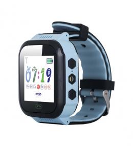 Детские часы с GPS трекером ERGO GPS Tracker J020 Blue