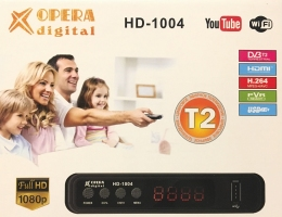 Ресивер DVB-T2 Opera digital HD-1004