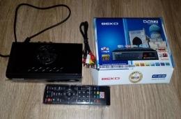 Ресивер DVB-T2 BEKO KY-2018E