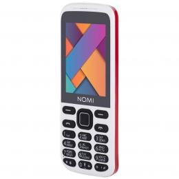 Мобільний телефон Nomi i244 White-Red