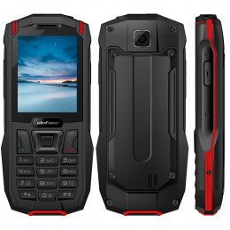 Мобільний телефон Ulefone Armor Mini (IP68) Black Red