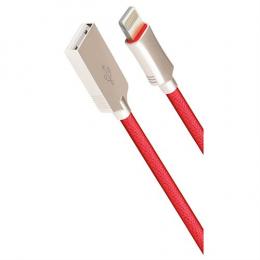 USB кабель Cord Hi-Q Lightning 1 m 2 A Red CDH-L1-2R