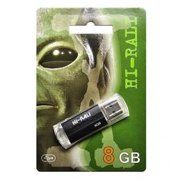 USB-флеш-накопитель Hi-Rali 8GB Corsair series Black