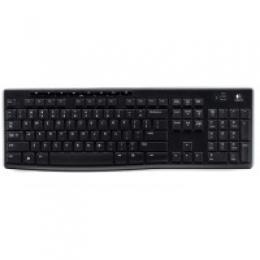 Клавіатура LOGITECH Wireless Keyboard K270 Eer