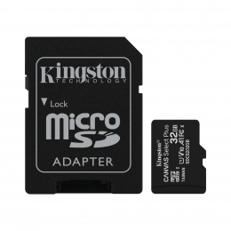Карта пам'яті Kingston microSDHC 32GB Canvas Select Plus Class 10 UHS-I U1 V10 A1 + SD-адаптер (SDCS2/32GB)