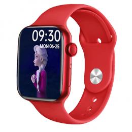 Смарт-часы Smart Watch i12 Aluminium Red