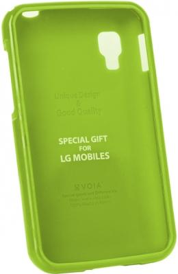 Чохол VOIA LG Optimus L4II Single Jelly Lime