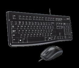Комплект (клавіатура + миша) Logitech MK120 Desktop (920-002561)