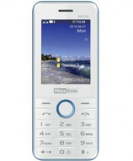 Мобільний телефон Maxcom MM136 White-Blue