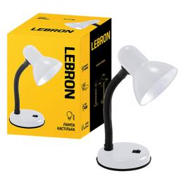 Лампа Lebron L-TL-E27-Wh