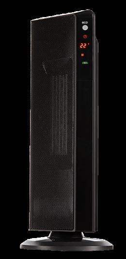Обігрівач керамічний ECG KT 200 DT Black