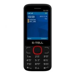 Мобільний телефон S-Tell S3-05 Black red