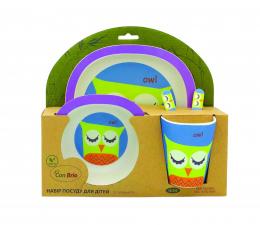 Набір дитячого посуду Con Brio СВ-250