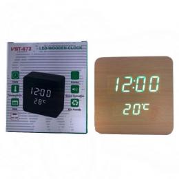 Часы VST-872-4 beige