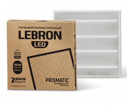 Світильник LED Lebron L-PS-LPU-36W 6200K