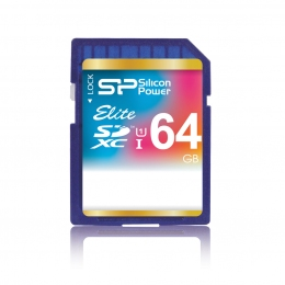 Карта пам'яті Silicon Power SDXC 64 GB Class 10 UHS-I Elite