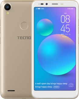 Смартфон Tecno POP 1s pro (F4 pro) Gold + карта памяти Kingston MicroSDHC 32GB Class 10 в подарок
