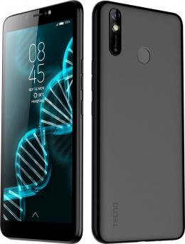 Смартфон Tecno Pouvoir 3 Air (LC6a) 1/16GB Dual Sim Midnight Black