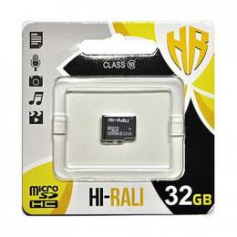 Карта пам'яті Hi-Rali MicroSDXC 32GB Class 10 (HI-32GBSDCL10-00)