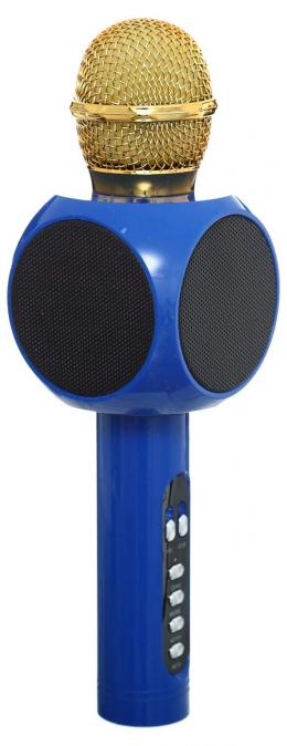 Безпровідний мікрофон караоке WSTER WS-1816 blue