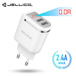 Зарядний пристрій Jellico WJ-C80 2USB 2.1A White