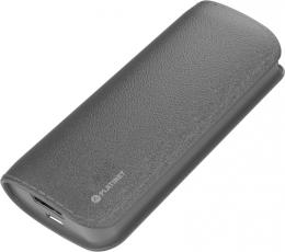 Зовнішній акумулятор Platinet leather 5200 mAh Gray (PMPB52LG)