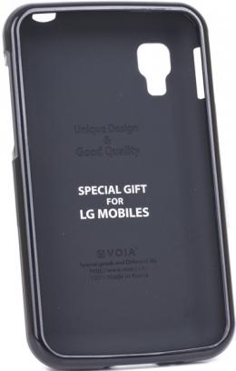 Чохол VOIA LG Optimus L4II Single Jelly Black