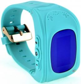 Смарт часы LUX Q-50-1 GPS Sim card blue