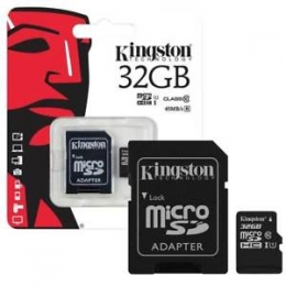 Карта пам'яті Kingston MicroSDHC 32GB Class 10 SDCS/32GB