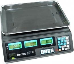 Вага торгова 40 кг Bitek YZ-208-TP
