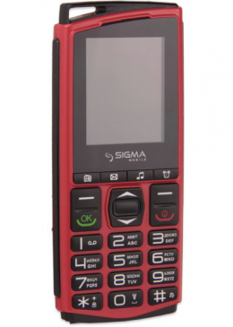 Мобільний телефон Sigma mobile Comfort 50 Mini 4 Red/Black