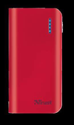 Зовнішній акумулятор Trust Primo 4400 Red