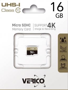 Карта пам'яті Verico MicroSDHC 16GB UHS-I Class 10 (1MCOV-MDH9G3-NN)