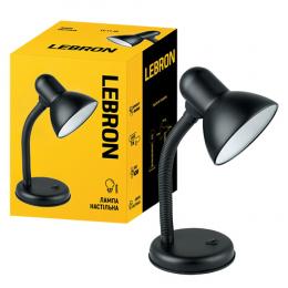Лампа Lebron L-TL-E27-Bl