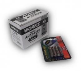 Батарейки Work's Alkaline LR03W-4B AAA 4шт